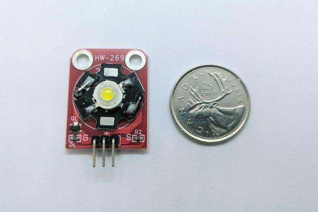 3W White LED Module