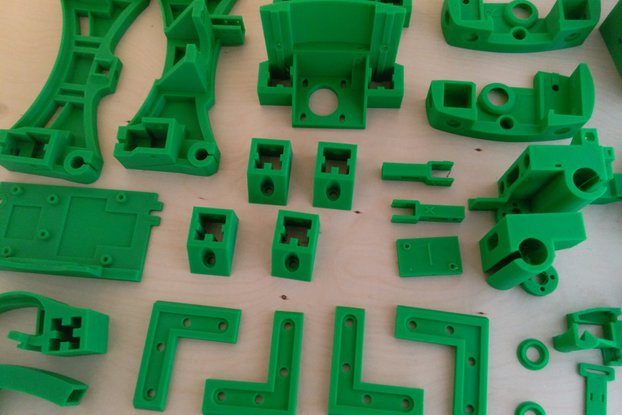 Reprap Wilson II plastic parts kit