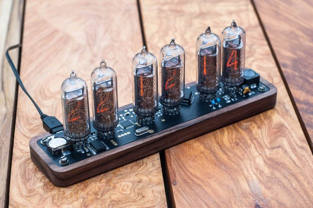 Nixie clock IN14