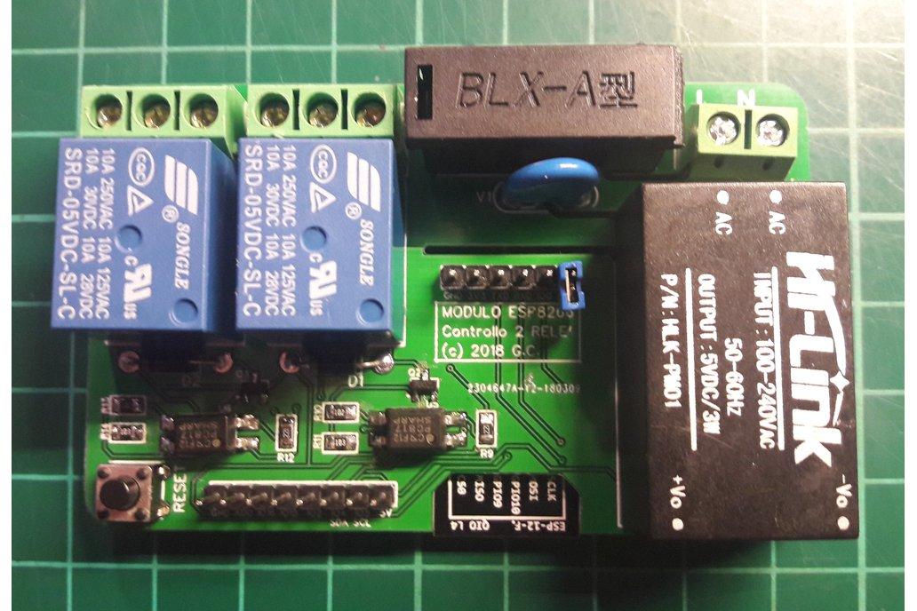ESP8266 Dual/Triple Relay module 1
