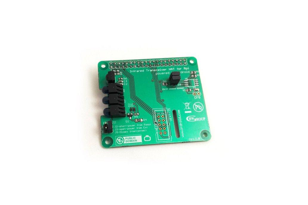 Irdroid-Rpi Infrared Transceiver for Raspberry Pi 2