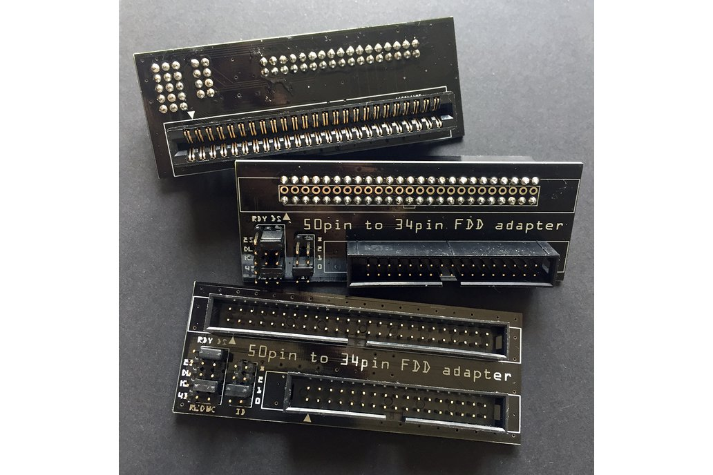 """8"""" floppy disk interface 50-pin to 34-pin adapter 1"""