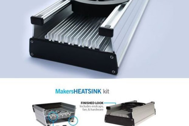 MakersLED Heatsink kit