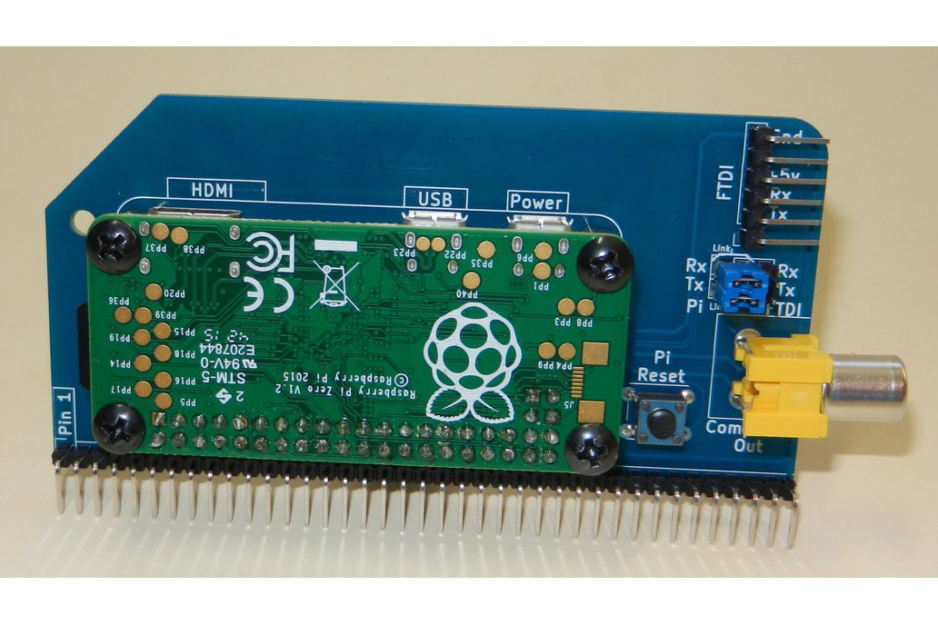 Raspberry Pi Zero Serial Terminal for RC2014 5