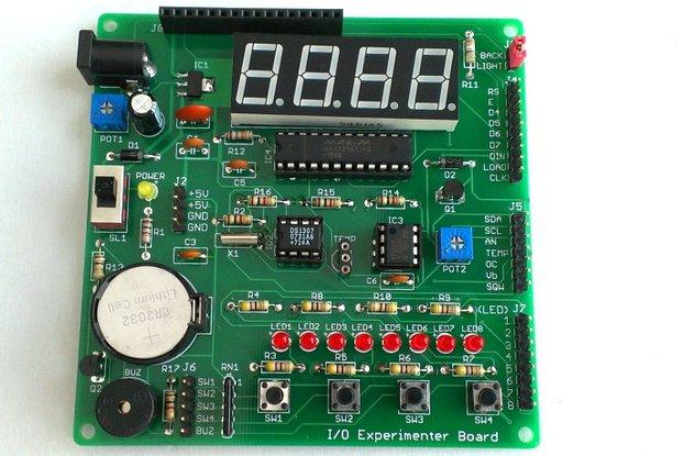 I/O Experimenter Board PCB (partial kit)