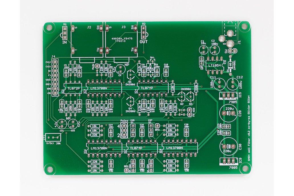 Shruthi SMR4 mkII Filter PCB 1