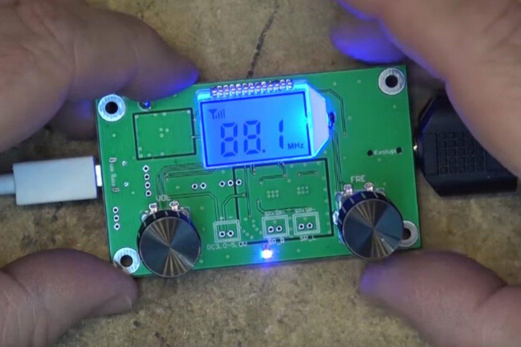 LCD Digital FM Stereo Radio Receiver Module(10545) 2