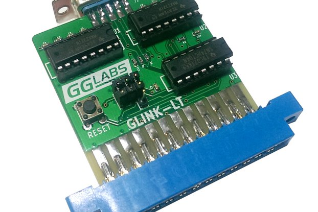 GLINK-LT - Commodore 64 User Port RS-232 - VIC1011