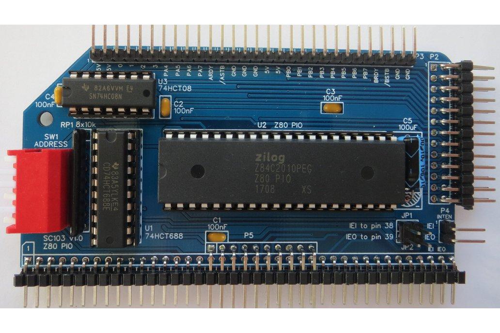 SC103 Z80 PIO Board for RC2014 2