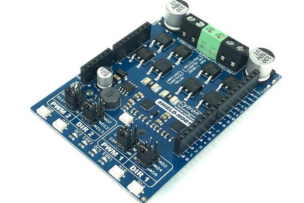 10Amp Dual DC Motor Driver Shield for Arduino