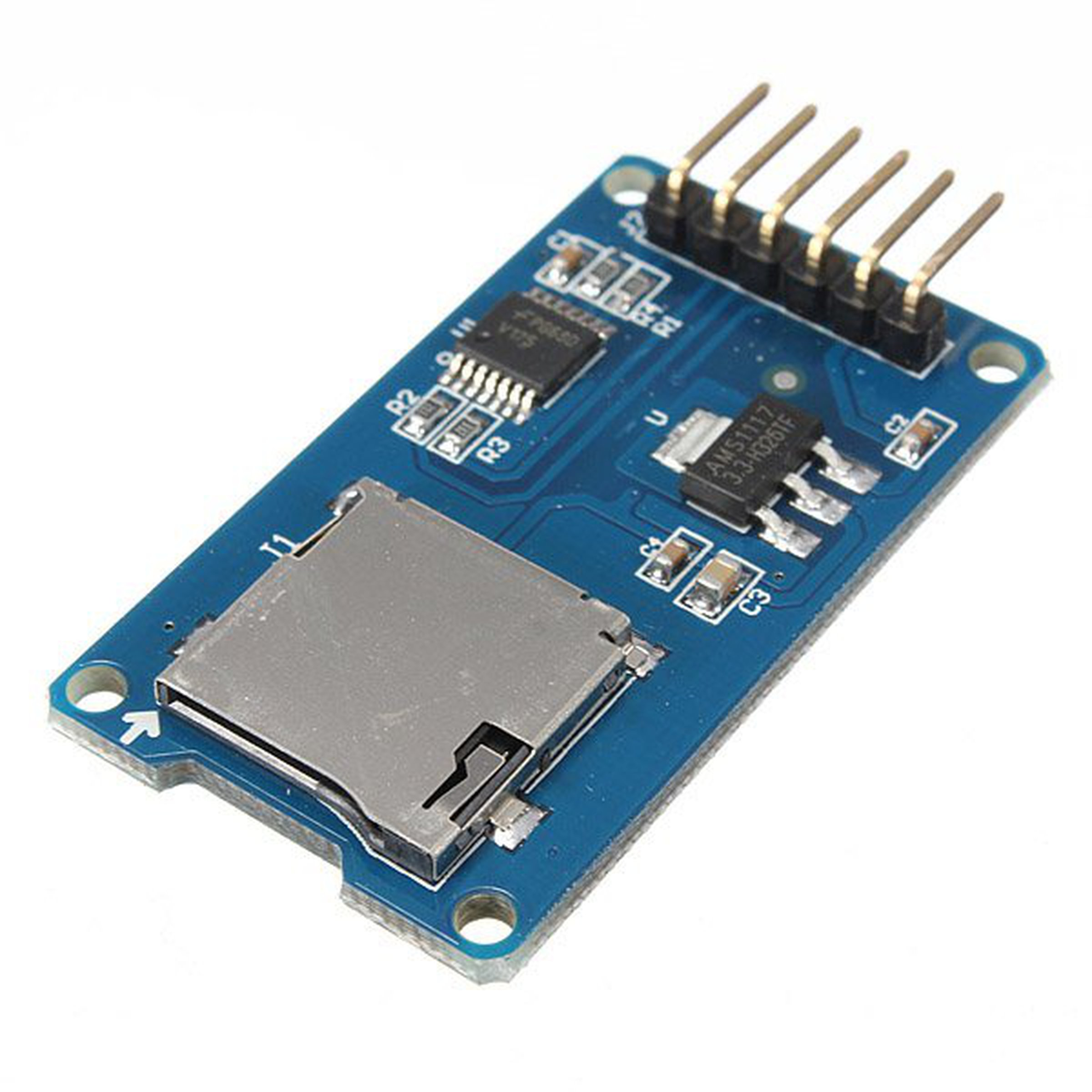 Micro sd card reader module for arduino from mmm on tindie
