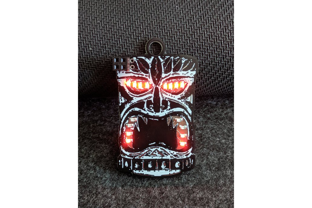 Tiki Badge 1
