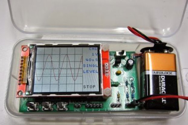 DIY Digital Oscilloscope, Logic Analyzer