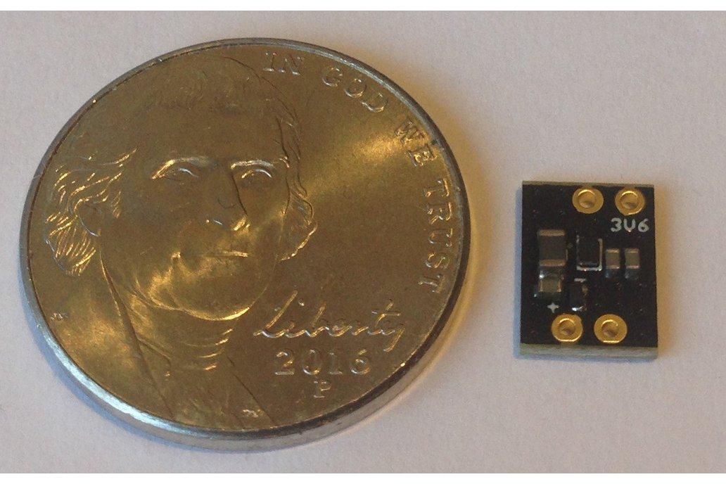 TPS610995 3.6 V Booster Board 1