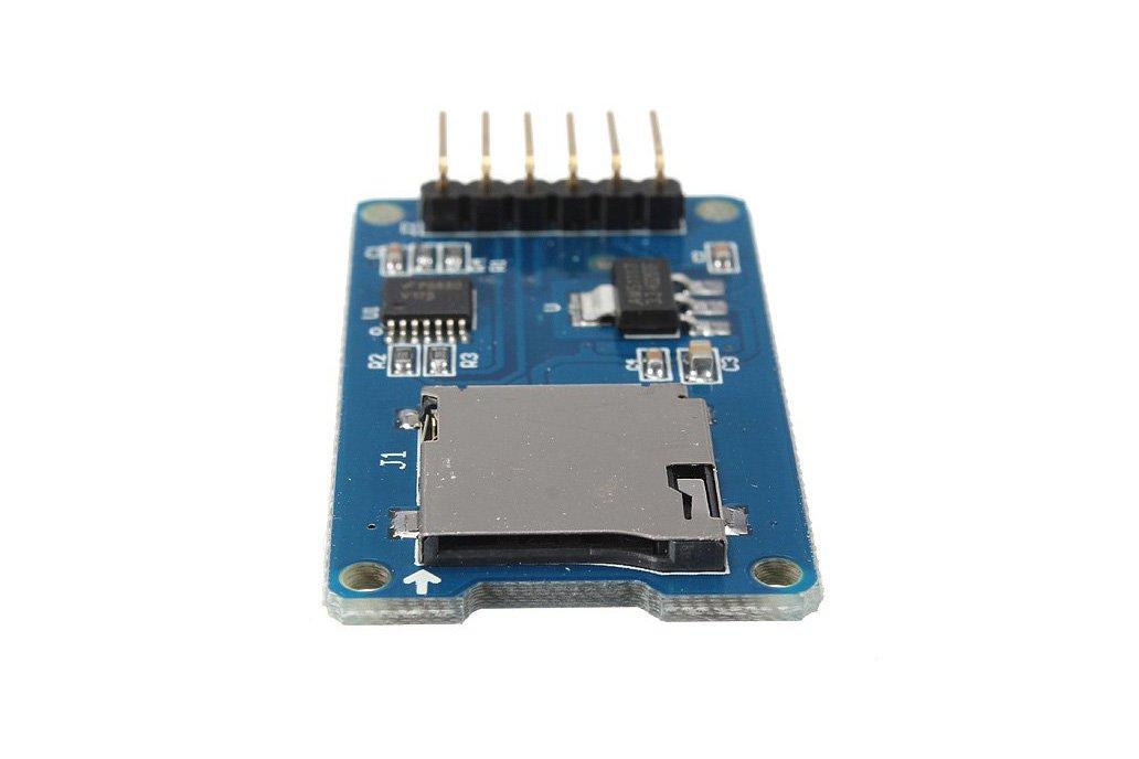 Micro SD card reader module for Arduino 3