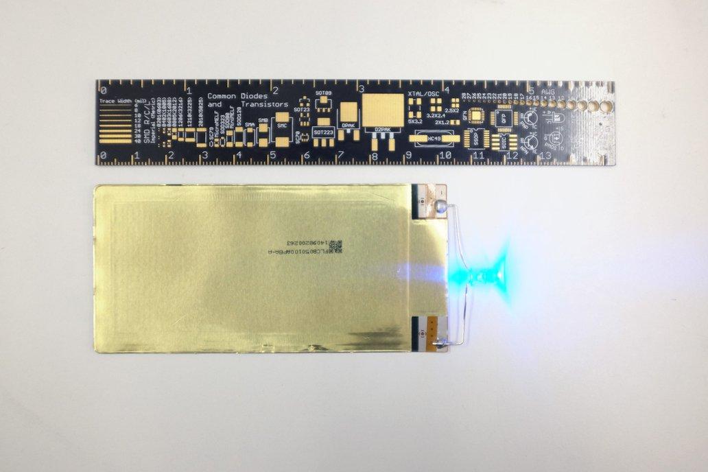 105mAh 3.75V Ultraflexible LITHIUM-CERAMIC Battery 4