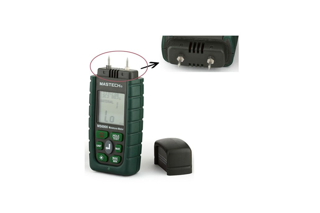 Wood Timber Moisture Humidity Temperature Detector 2