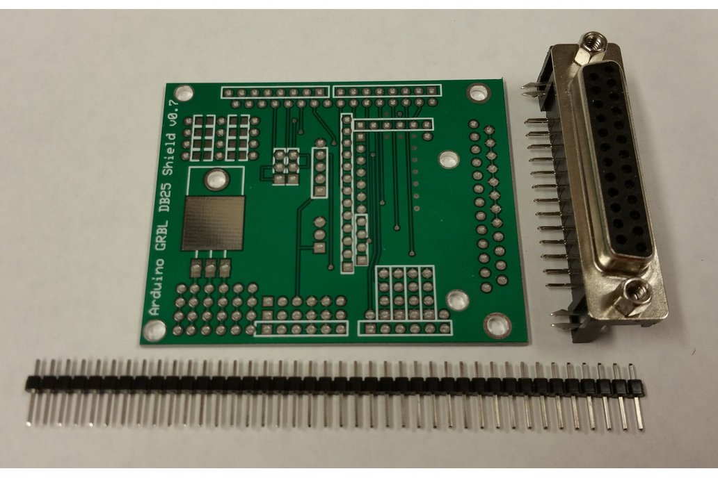 Arduino GRBL to DB25 CNC Shield Kit 2