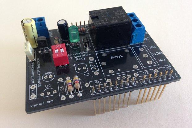 Arduino Sensor Shield Kit - Temperature Sensors Relay