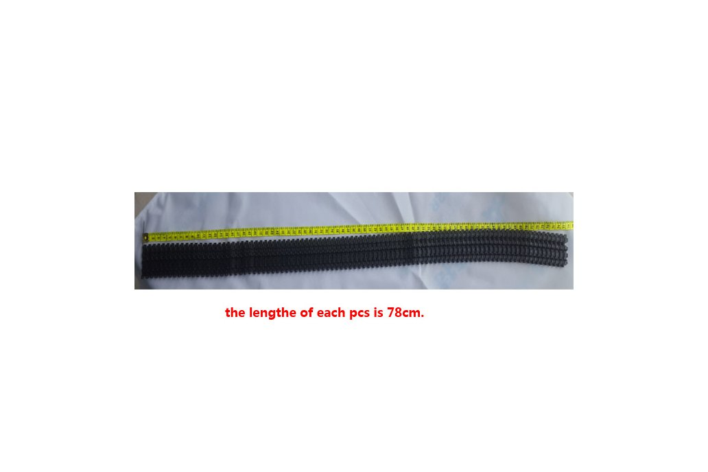 Plastic Caterpillar Chain Track for Tank Chassis 3