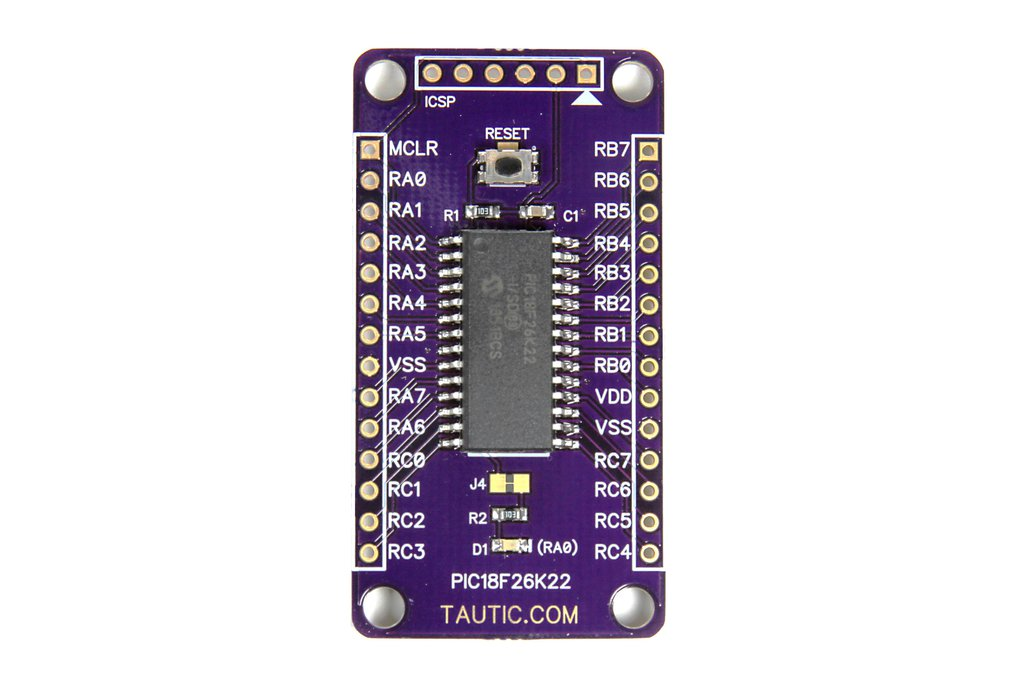 28 Pin PIC18F26K22 Development Board 1