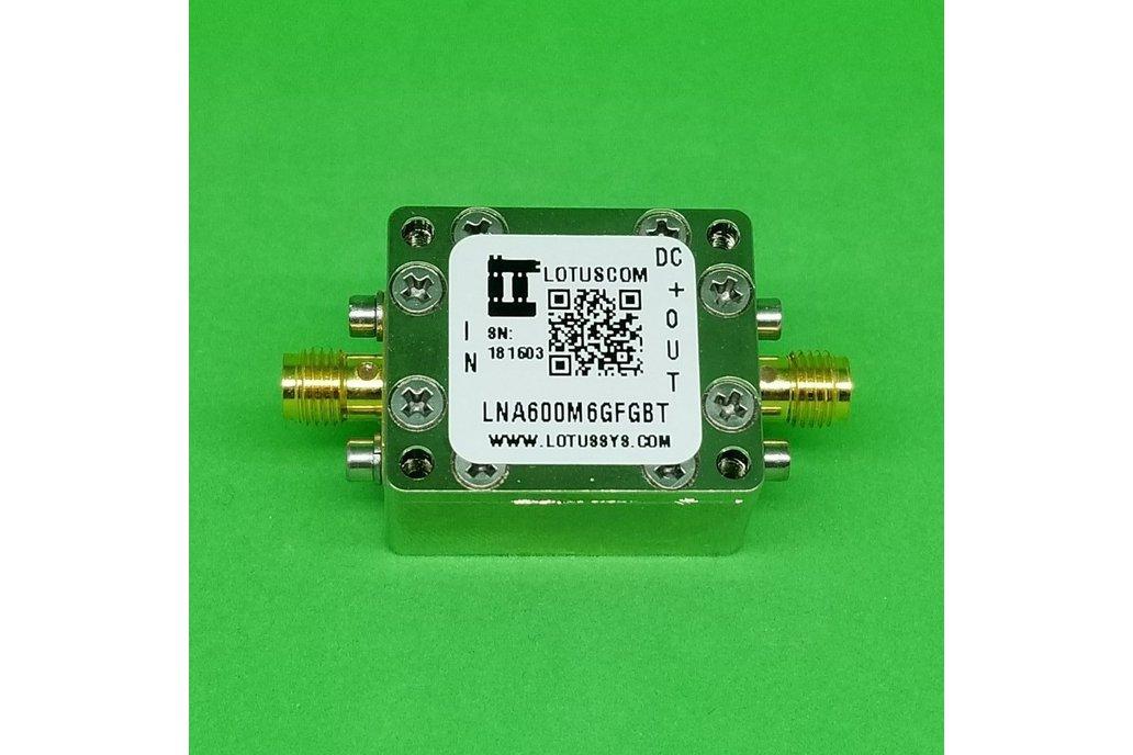 Broadband LNA 0.95dB NF 0.6~6GHz with Bias Tee 1