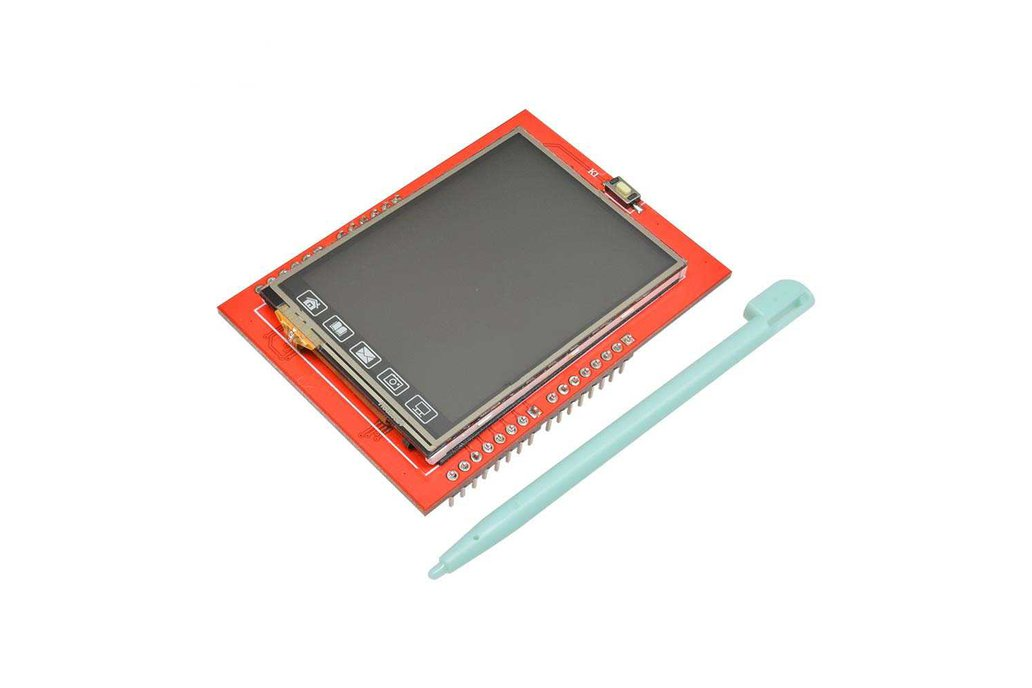 2.4 inch TFT LCD Touch Screen Module for Arduino 1