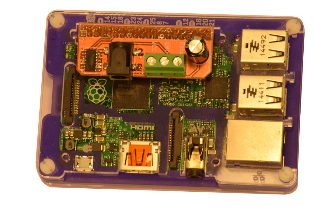 Raspberry Pi Voltage shifter for WS2812 Neopixels 3