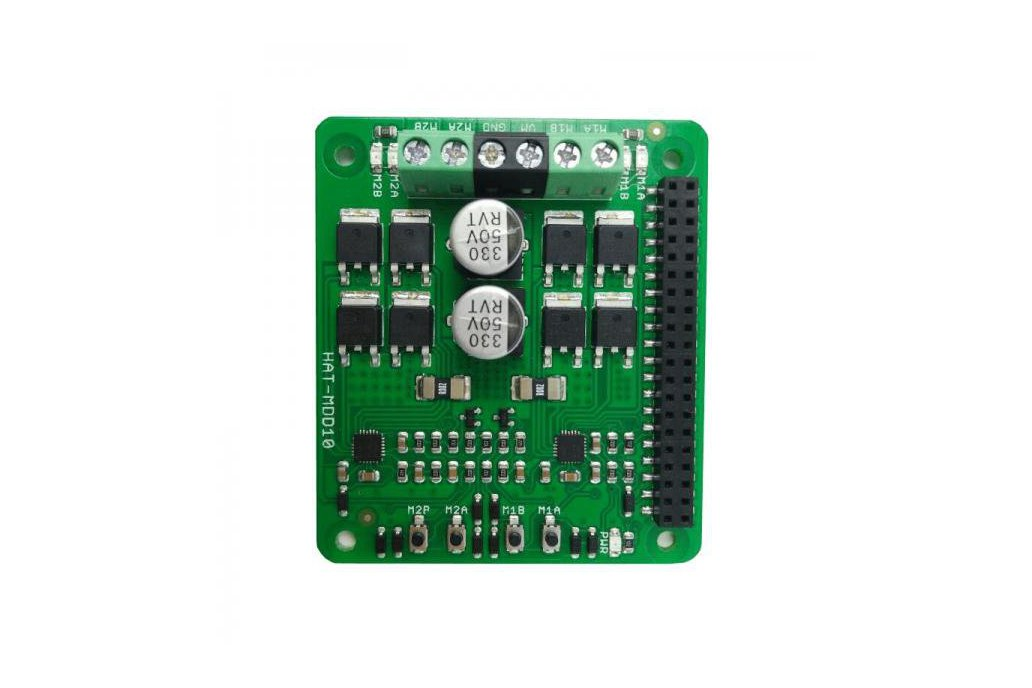 2x10A Motor Driver HAT For Rasberry PI 3