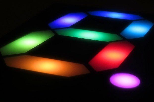 RGB Seven Segment Display for Artist