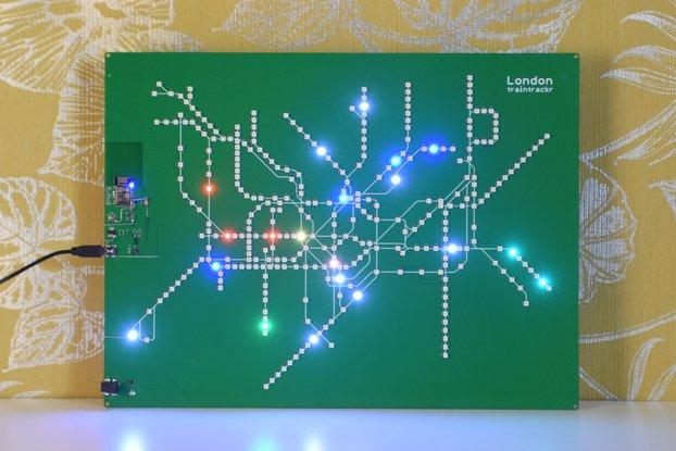 London Underground Large - Live Circuit Board Map