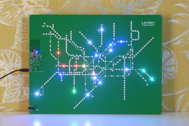 London Underground Large - Live Circuit Board Map
