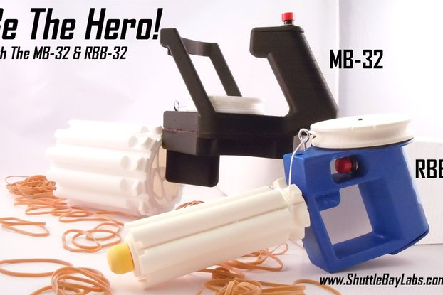 Automatic Rubber Band Blaster Kit