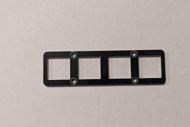 NeoKey 1x4 Mechanical Plate