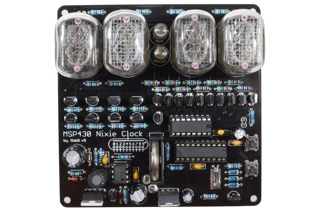MSP430 Nixie Clock kit 2