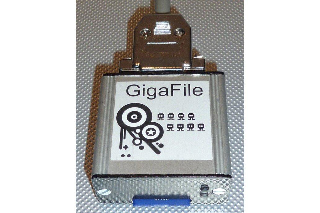 GigaFile SD-Card Harddrive - Boxed Version 2
