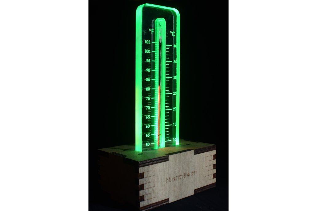 thermNeon - the neon nixie room thermometer 3