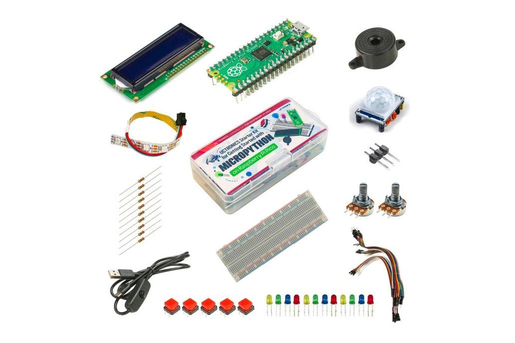 Starter Kit for Raspberry Pi Pico 1