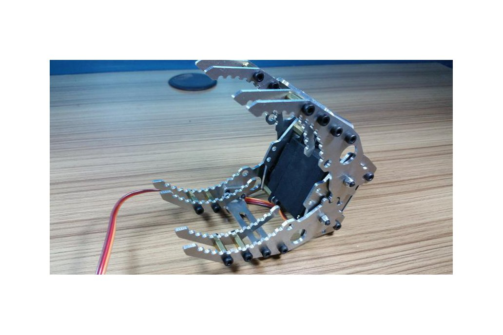 G116 Full Metal Robot Paw/Claw/Gripper 1