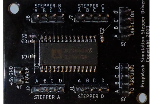 Vid6606 (STI6606) 4x Stepper Driver for X27.168