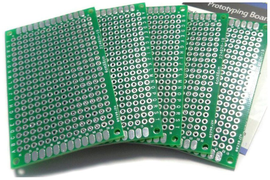 Double-sided prototyping board - 40x60mm