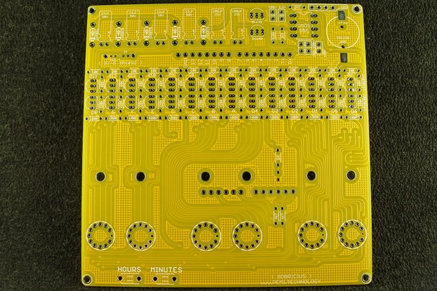 FLAT 6xVFD (IV-3, IV-6) tubes arduino shield