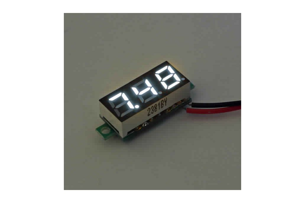 Geekcreit® 0.28 Inch 2.5V-30V Mini Digital 2