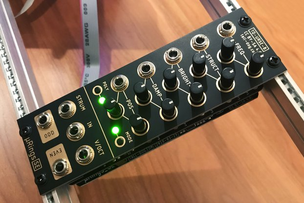 µRings SE (uRings, microRings) Eurorack [Rev B]