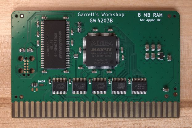 RAM2E II (GW4203B) -- 8MB RAM for Apple IIe