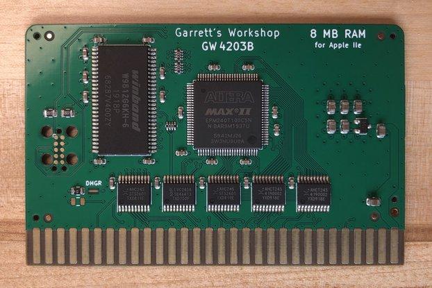 RAM2E II (GW4203B) -- 8MB RAM for Apple IIe ][e