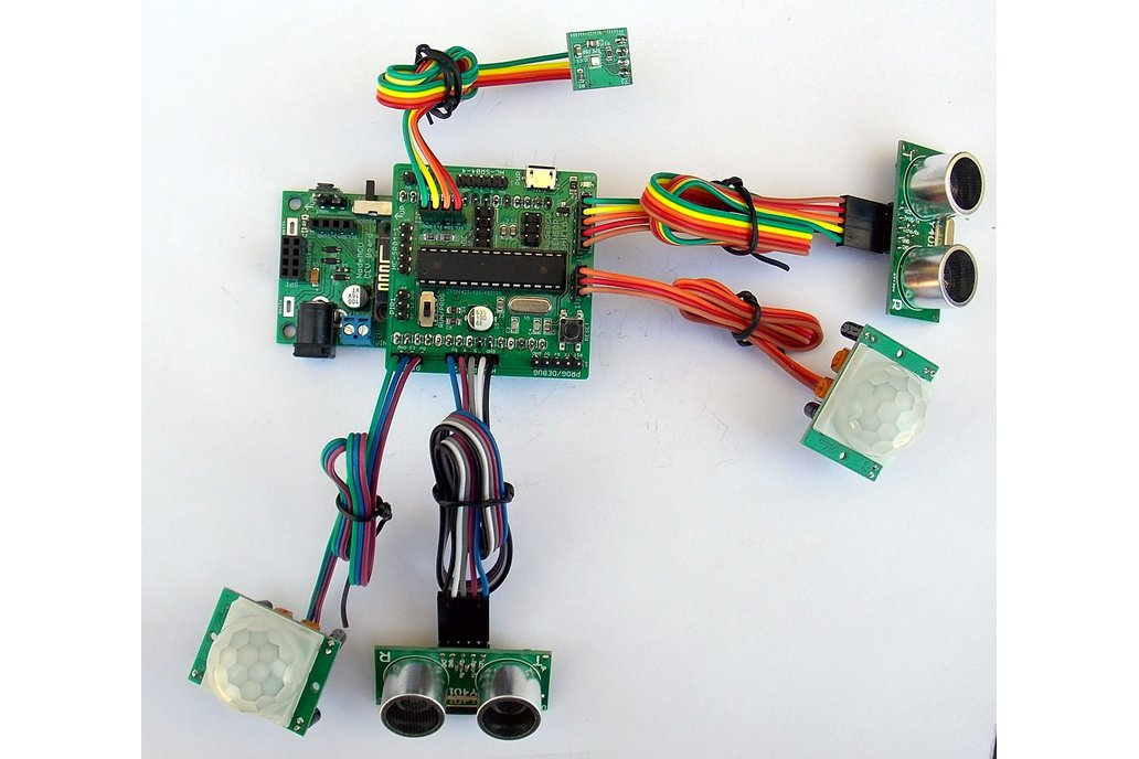 Multi-Sensor Shield for Wireless Development Board 1