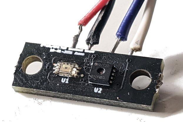 Small SHT30 and BH1730 sensor board