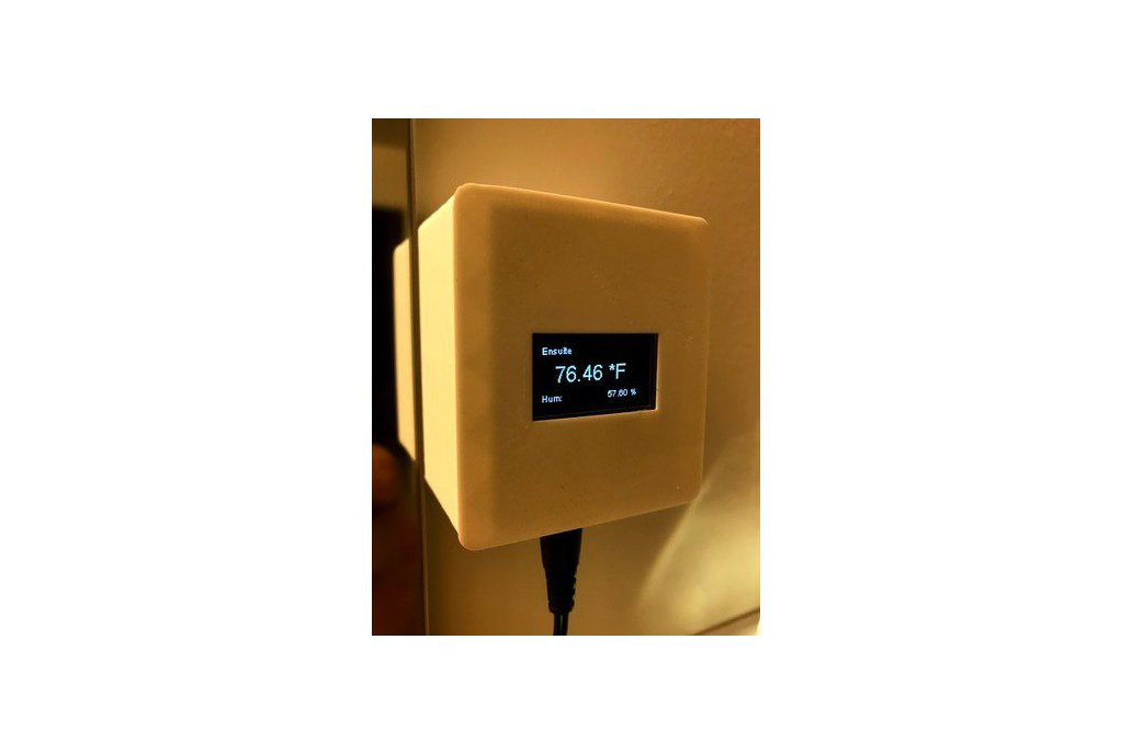 The Kube OLED Temp/Humidity Multisensor for HA 1