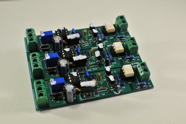 Isolated 3 channel PWM to Analog Converter